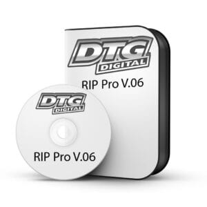 DTG Rip Pro software for almost every DTG Printer